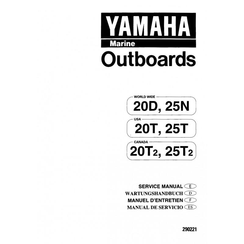 yamaha 20 hp 2 stroke manual