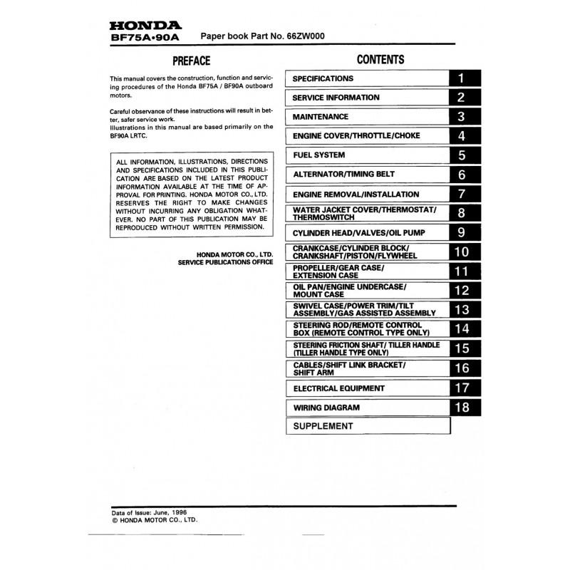 manuel honda bf75a bf90a rh engine manual com honda bf90 service manual shop manual honda bf 90