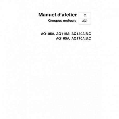 VOLVO PENTA AQ105A-AQ115A-AQ130A B C AQ165-AQ170A B C.