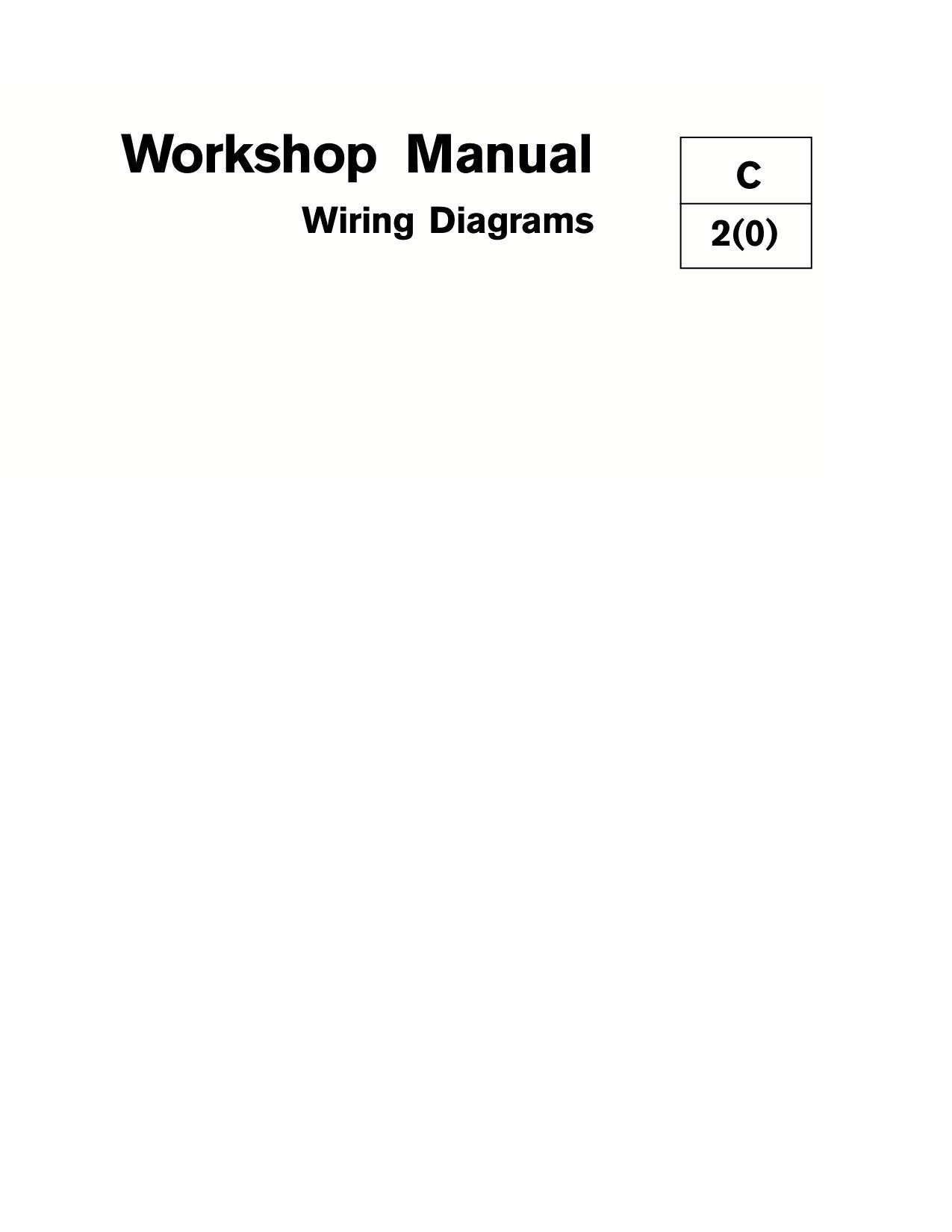 Manuel Volvo Penta Essence 2000 Wiring Diagram