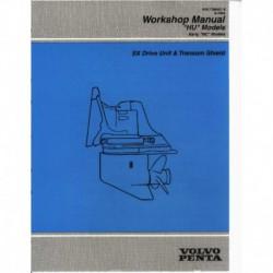 VOLVO PENTA Model HU 1995-SX Drive Unit & Transom Shield