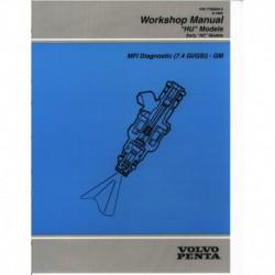 VOLVO PENTA Model HU 1995-MFI Diagnostic (7.4GI GSi)-GM