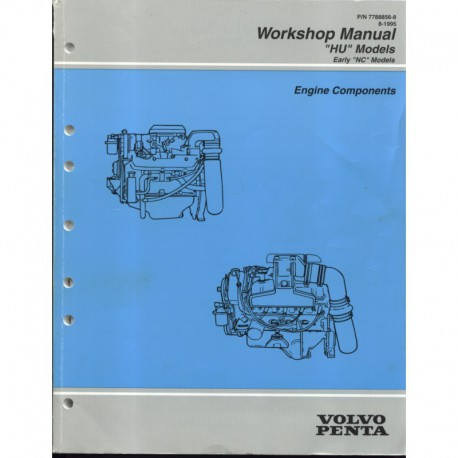 VOLVO PENTA Model HU 1995-Engine Components