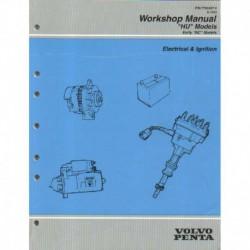 VOLVO PENTA Model HU 1995-Electricat & Ignition