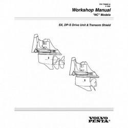 VOLVO PENTA Model NC 1996-SX DP-S Drive Unit & Transom Shield