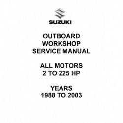 Suzuki DT 1988 2003 2 hp 225hp