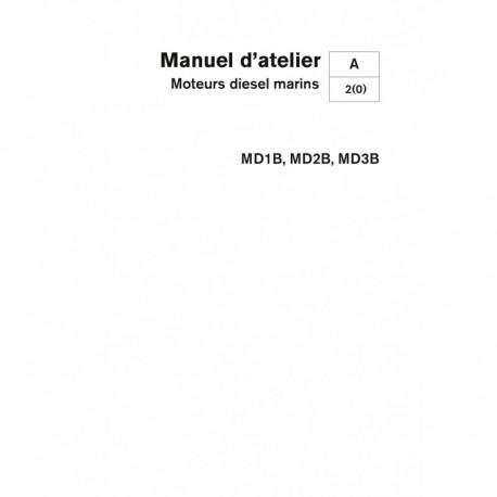 VOLVO PENTA DIESEL MD1B-MD2B-MD3B Unité Moteur