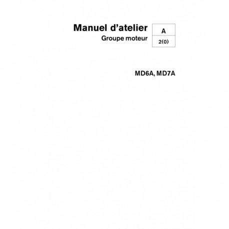 VOLVO PENTA DIESEL MD6A-MD7A Unité Moteur