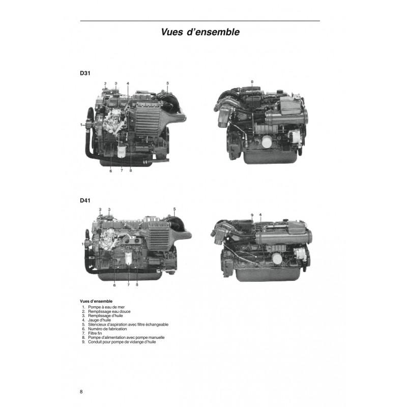manuel volvo penta diesel d31a b d41a b moteur. Black Bedroom Furniture Sets. Home Design Ideas