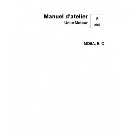 VOLVO PENTA DIESEL MD5A-B-C Unité Moteur
