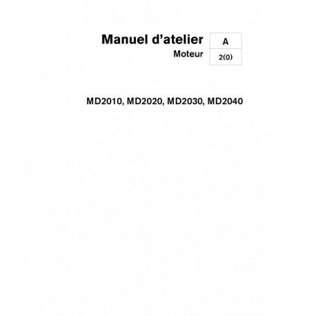 VOLVO PENTA DIESEL 2010-2020-2030-2040 A, B, et C Moteur