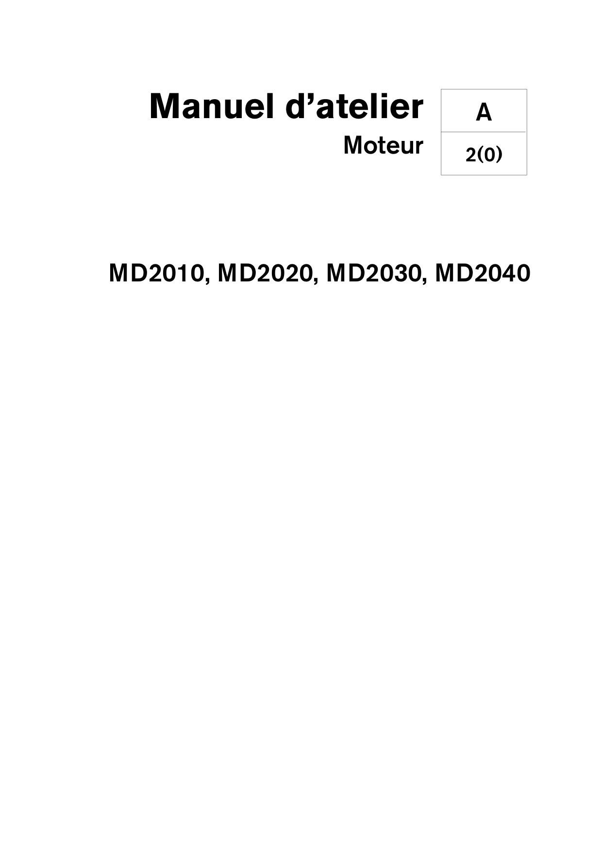 Manuel Volvo Penta Diesel 2010 2020 2030 2040 A B