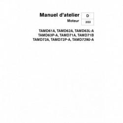 VOLVO PENTA DIESEL D61-D62-D63-D71-D72 Moteur