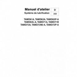 VOLVO PENTA DIESEL D61-D62-D63-D71-D72 Système Lubrification