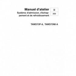 VOLVO PENTA DIESEL D73 Système Adm., Echap., & Refroidissement