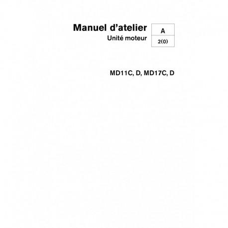 VOLVO PENTA DIESEL MD11C, D & MD17C, D Unité Moteur