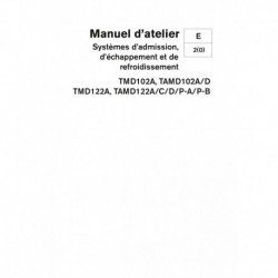 VOLVO PENTA DIESEL D102-D122 Système Adm., Echap., & Refroidissement