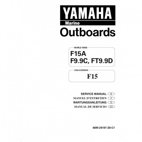YAMAHA F10 F15