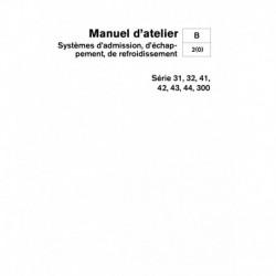 VOLVO PENTA DIESEL D31-32-41-42-43-44-D300 Système Adm., Echap. & Refroidissement