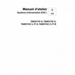 VOLVO PENTA DIESEL D72-D74 Système Alimentation EDC I