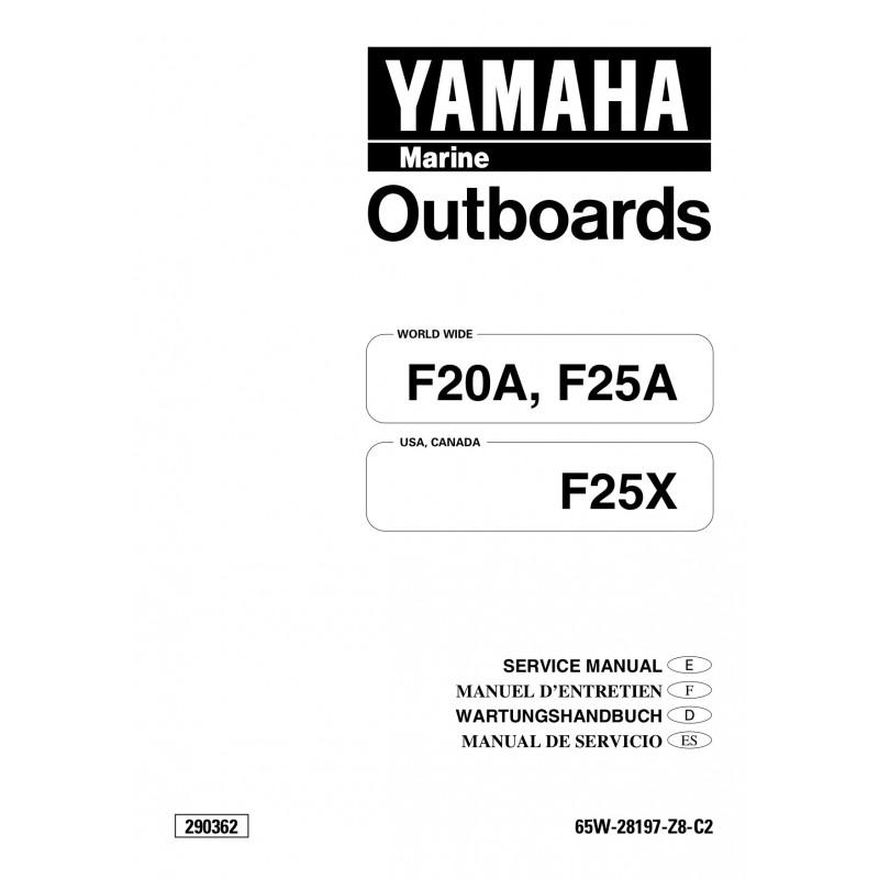 manuel yamaha f20 f25