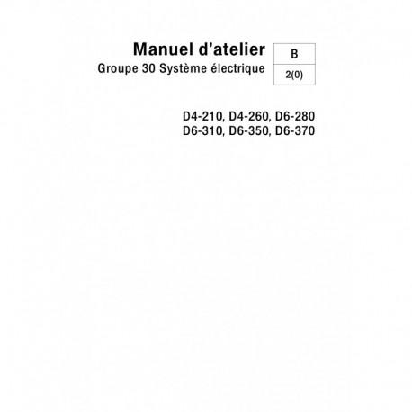 Manuel VOLVO PENTA DIESEL D4-210,D4-260,D6-280,D6-310,D6-350,D6-370 Système  électrique - (04-2005)