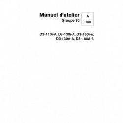 VOLVO PENTA DIESEL D3-110, D3-130, D3-160 Système Electrique Groupe 30 (08-2005)