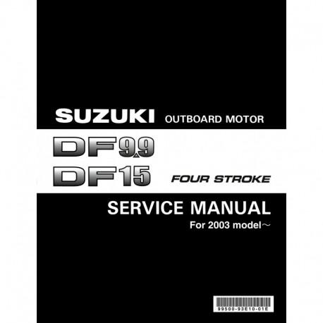 SUZUKI DF9.9 DF 15DF