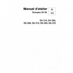 VOLVO PENTA DIESEL D4-210,D4-260,D6-280,D6-310,D6-350,D6-370 Groupe 20-26 - (02-2006)