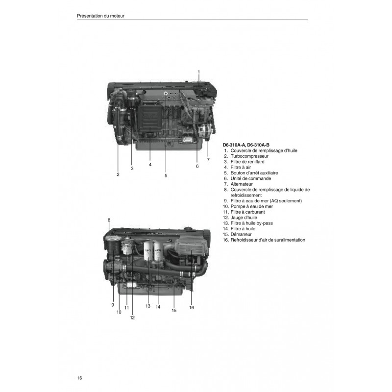 260a Volvo Penta Engine Diagram - Wiring Diagram •