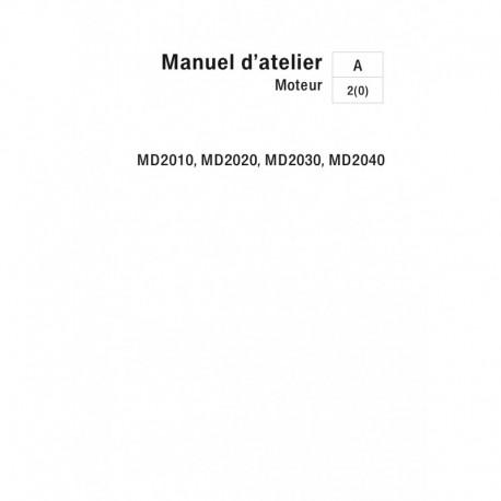 VOLVO PENTA DIESEL 2010-2020-2030-2040 A, B, C, et D Moteur