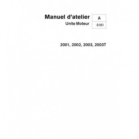 VOLVO PENTA DIESEL 2001-2002-2003-2003T Unité Moteur