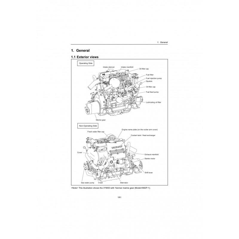 yanmar-2ym15-3ym20-3ym30 Yanmar Ym Wiring Diagrams on
