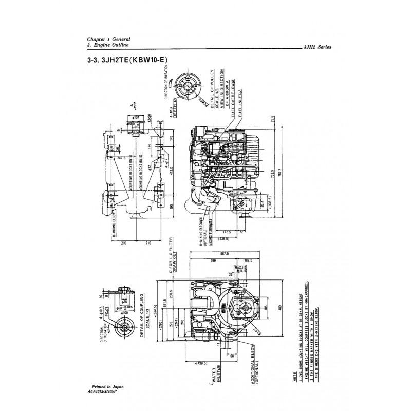 manuel yanmar 3jh2e te rh engine manual com Yanmar Diesel yanmar 3jh3e manual