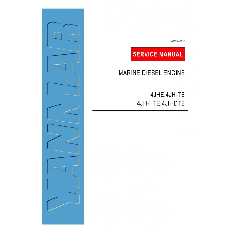 Yanmar 4Jhe Service Manual - Home - WiManual