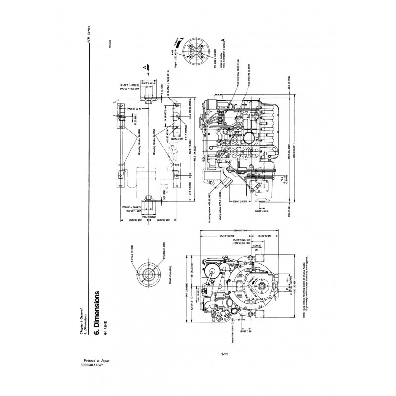 Yanmar 4JH-TE Engine Service manual PDF View/Download