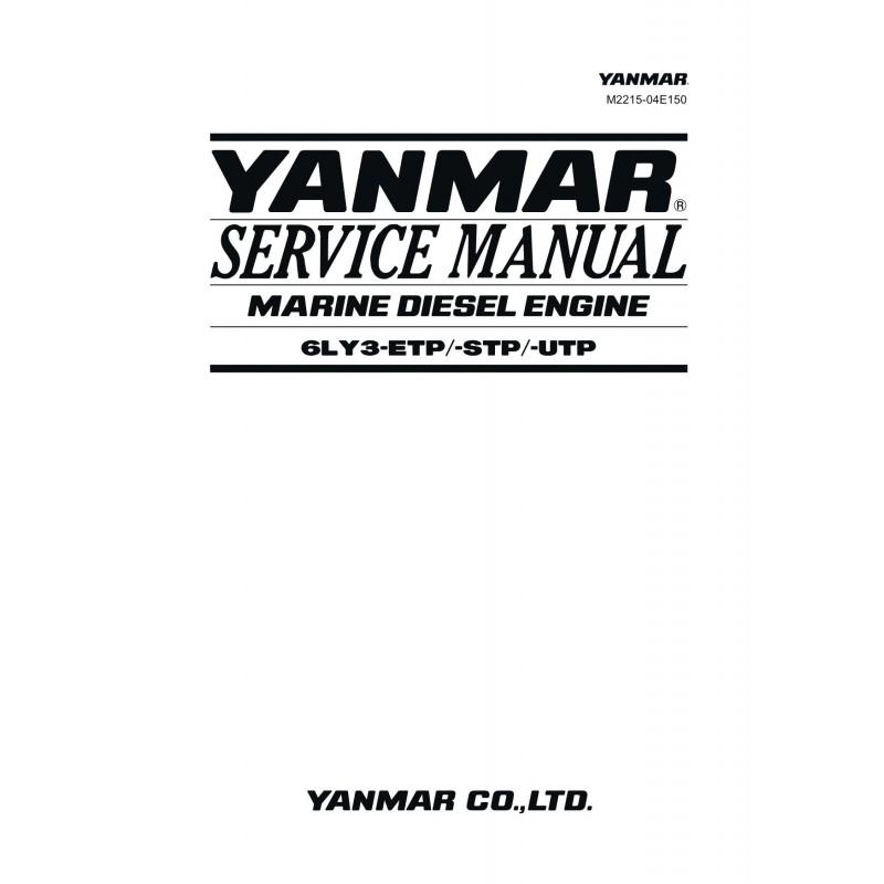 Manuel YANMAR 6LY3 ETP STP UTP