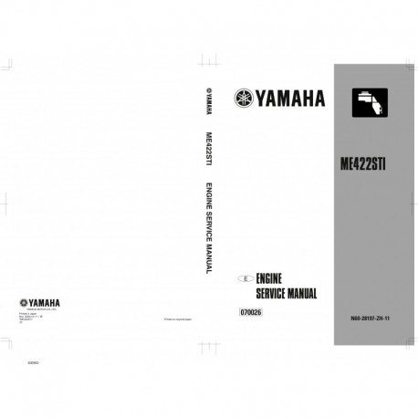 YAMAHA ME422STI service manual
