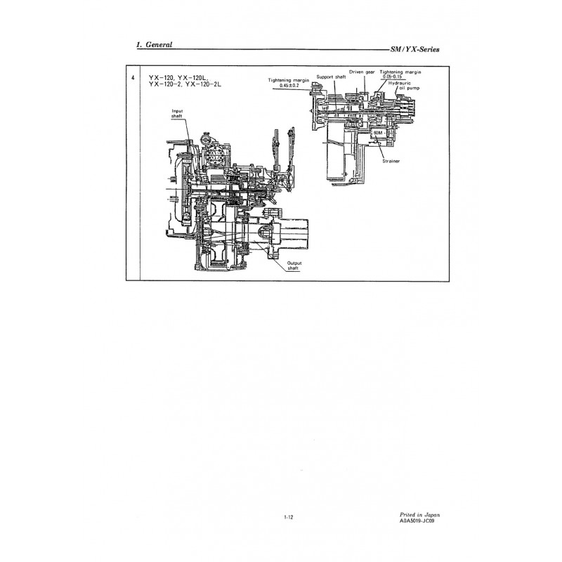 YANMAR YX - Engine-Manual