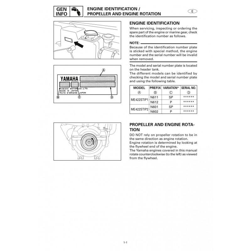 Yamaha Me  Sti Manual