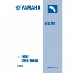 YAMAHA ME372 service manual