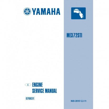YAMAHA ME372 service manual