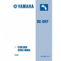 YAMAHA DE-DHT (TRP) service manual