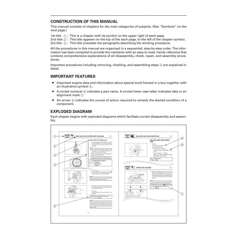 Manuel YAMAHA DE-DHT (TRP) service manual