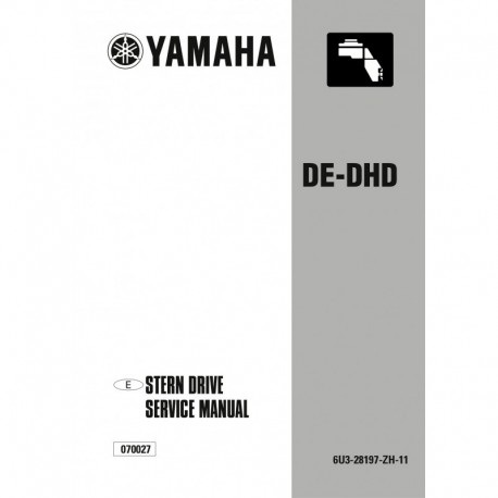 YAMAHA DE-DHD (Std) service manual