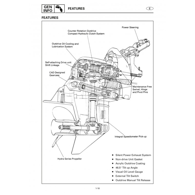 Manuel YAMAHA DE-DHD (Std) service manual