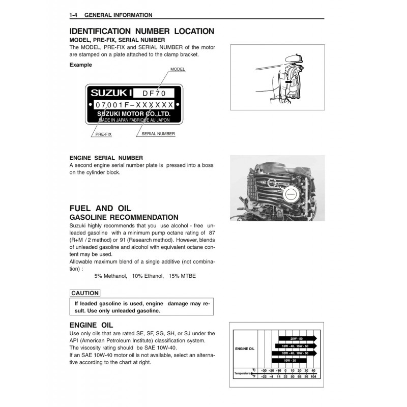 Suzuki Df70 Motor Manual