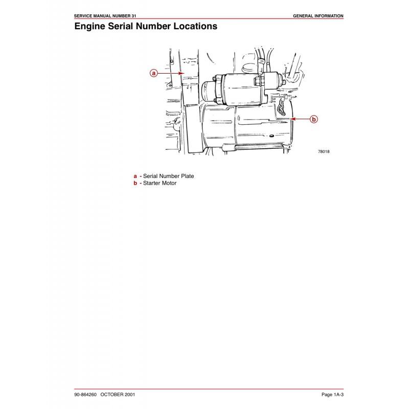 Mercruiser 350 mpi manual at Idle