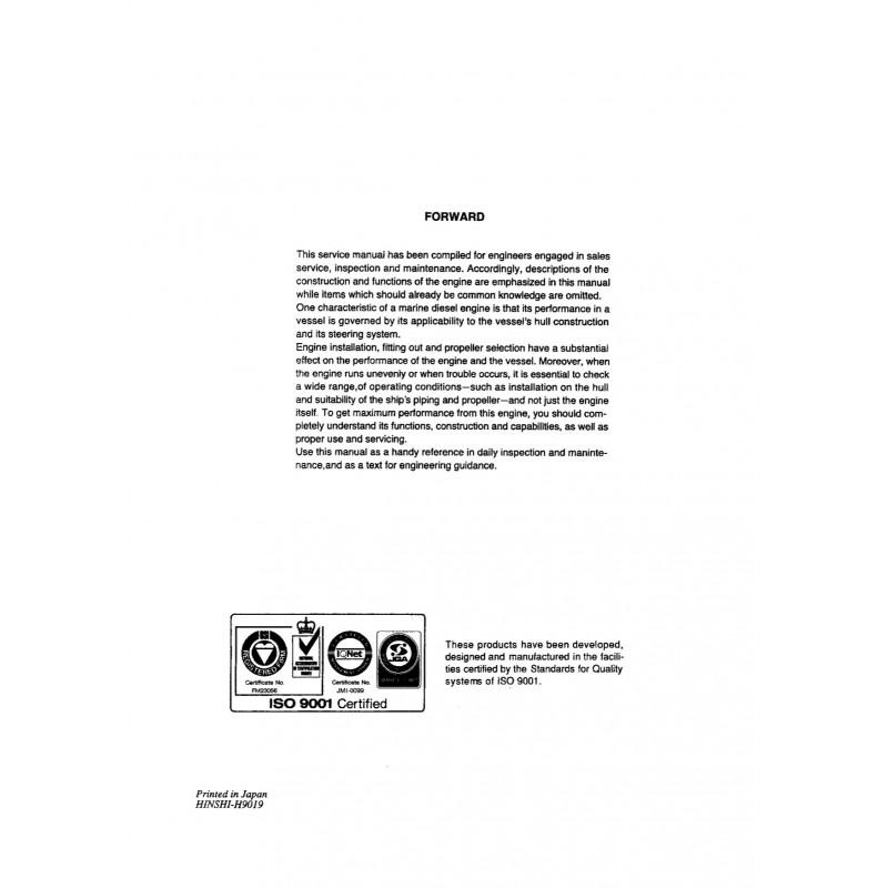 Yanmar 4lha Ste service Manual