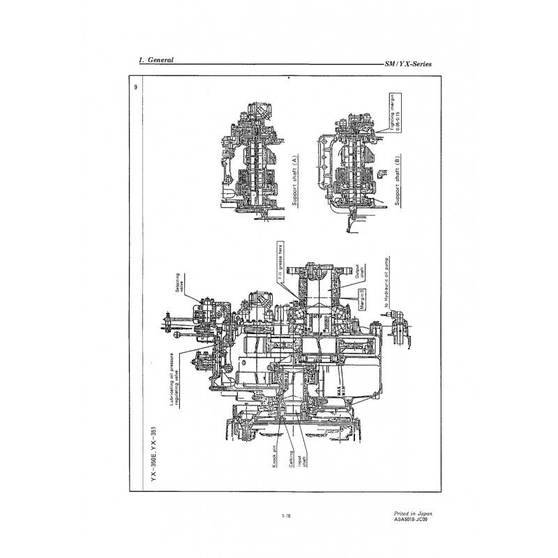 Manual For yanmar